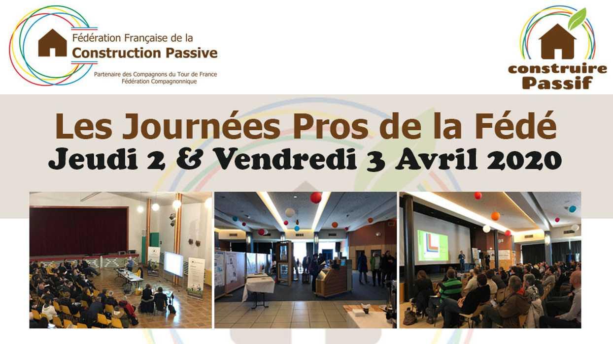 Les Journées Pros de la Fédé - 2020 - Alsace 0