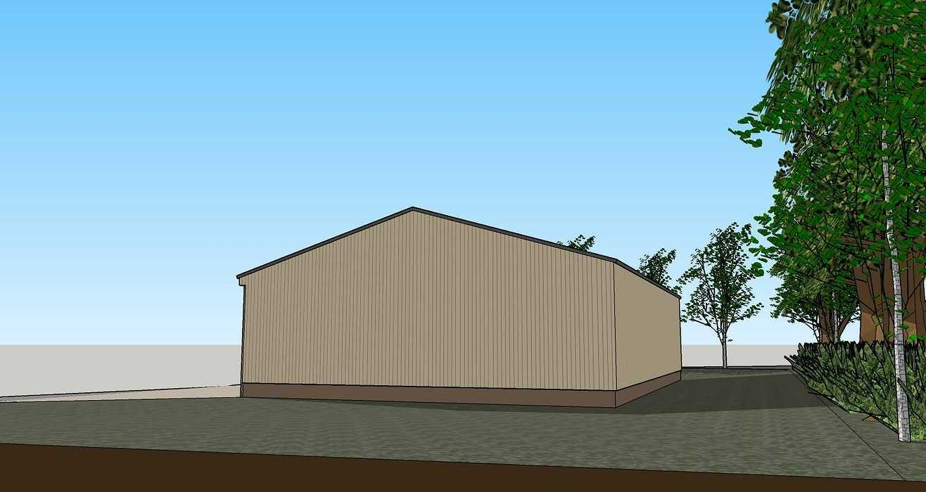 Construction d''un atelier d''entreposage - Bréhan (56) 200424231apd3d4