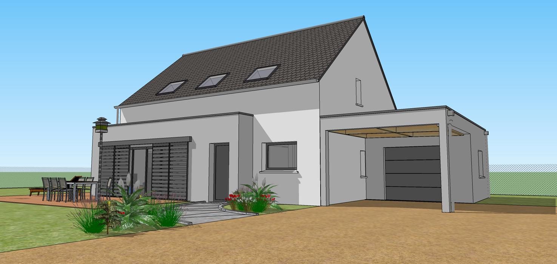 Construction maison neuve - TREFFRIN / Proche CARHAIX (22) 0