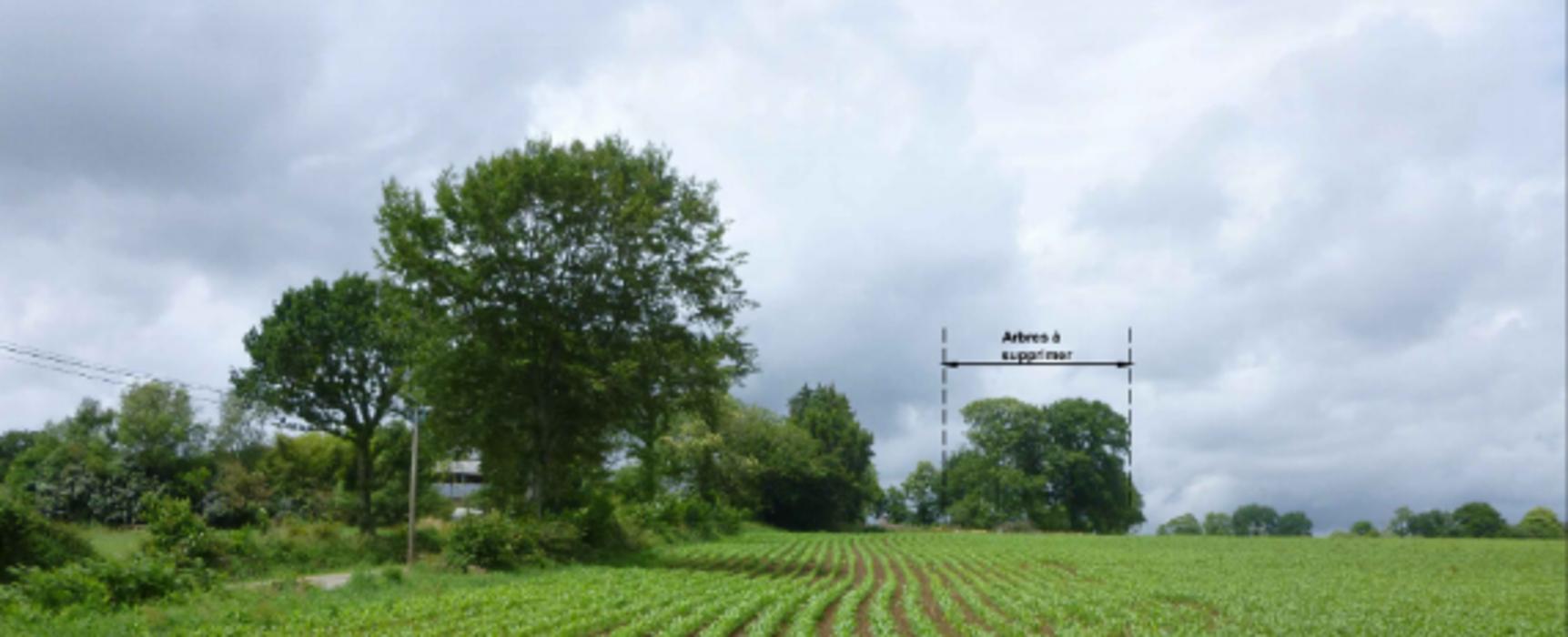 Projet construction d''un hangar agricole pour le stockage de fourrages et de matériel - Secteur Pennaneach 0