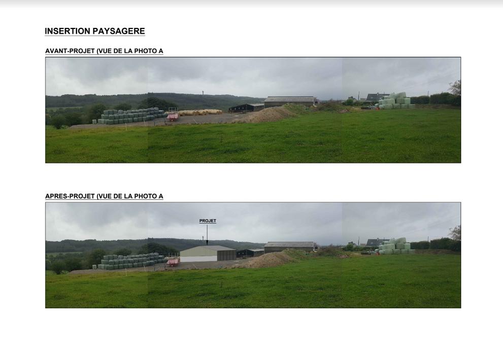 Construction hangar agricole stockage matériel- Secteur Spezet 0