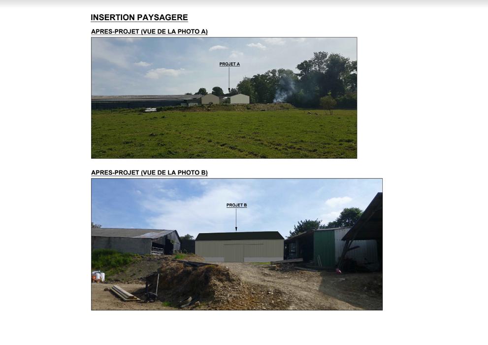 Construction hangar stockage fourrage - Secteur Priziac 0