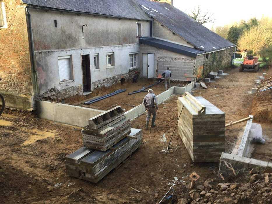 Extension et réorganisation d''une maison d7