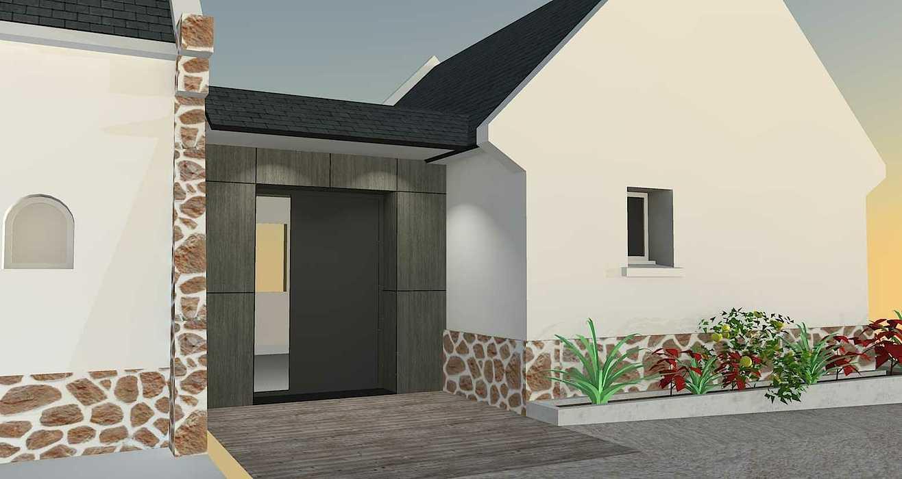 Extension d''une maison - Erquy rollier-vue3d-18.06.18