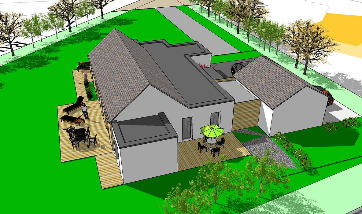 Projet : Aménager une maison avec accessibilité handicapé 09