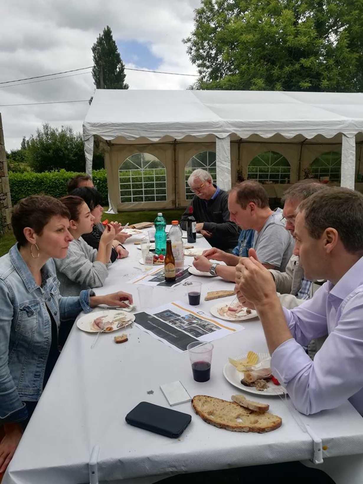 en 2019 : le dejeuner champetre aura lieu le 14 juin !